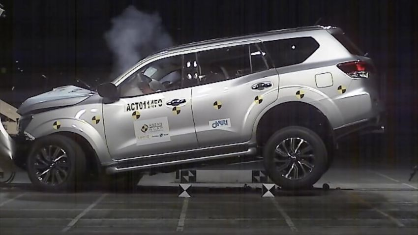 Nissan Terra gets a 5-star ASEAN NCAP safety rating Image #899311