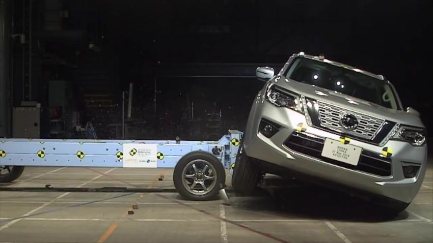 Nissan Terra gets a 5-star ASEAN NCAP safety rating Image #899314