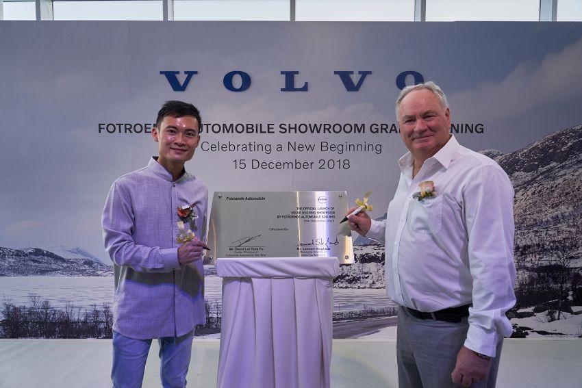 Volvo reenters Sarawak with new Kuching showroom Image #902830