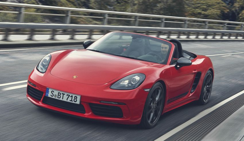 New Porsche 718 T – Boxster and Cayman stripped Image #903541