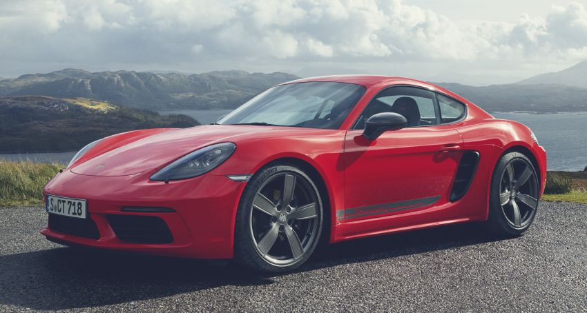 New Porsche 718 T – Boxster and Cayman stripped Image #903544