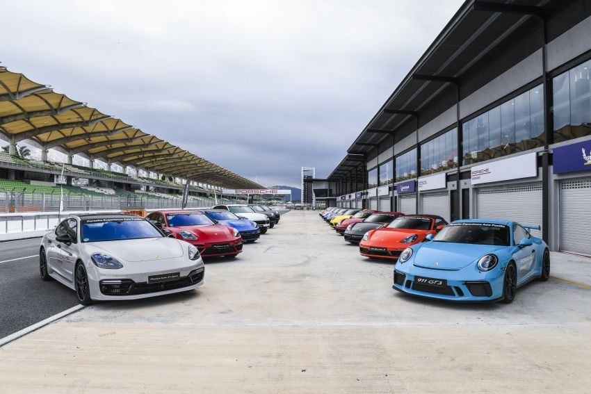 Porsche Experience Centre Sepang looks back on a successful 2018 – 41 track days, 668 participants Image #899176