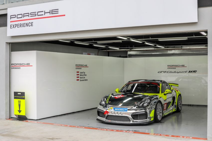 Porsche Experience Centre Sepang looks back on a successful 2018 – 41 track days, 668 participants Image #899162