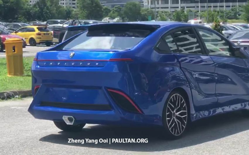 Proton Invictus spotted – Preve-based concept for the Proton & DRB-Hicom U Creative Car Challenge (PD3C) Image #898494