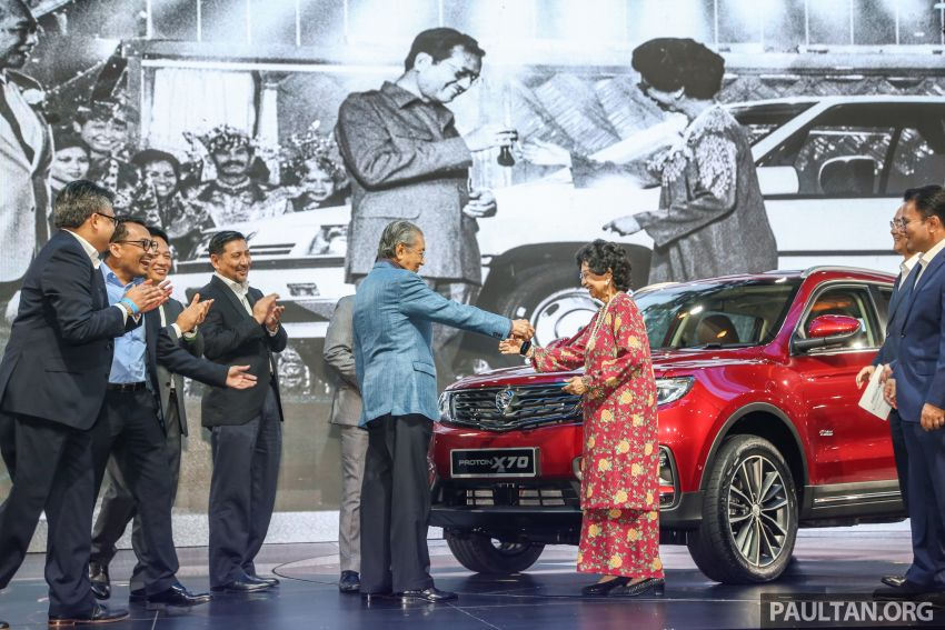 Proton X70 SUV launched in Malaysia, from RM99,800 Image #901620