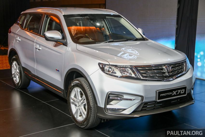 Proton X70 SUV launched in Malaysia, from RM99,800 Image #901675