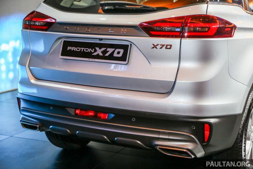 Proton X70  – perbandingan spesifikasi penuh Image #901651