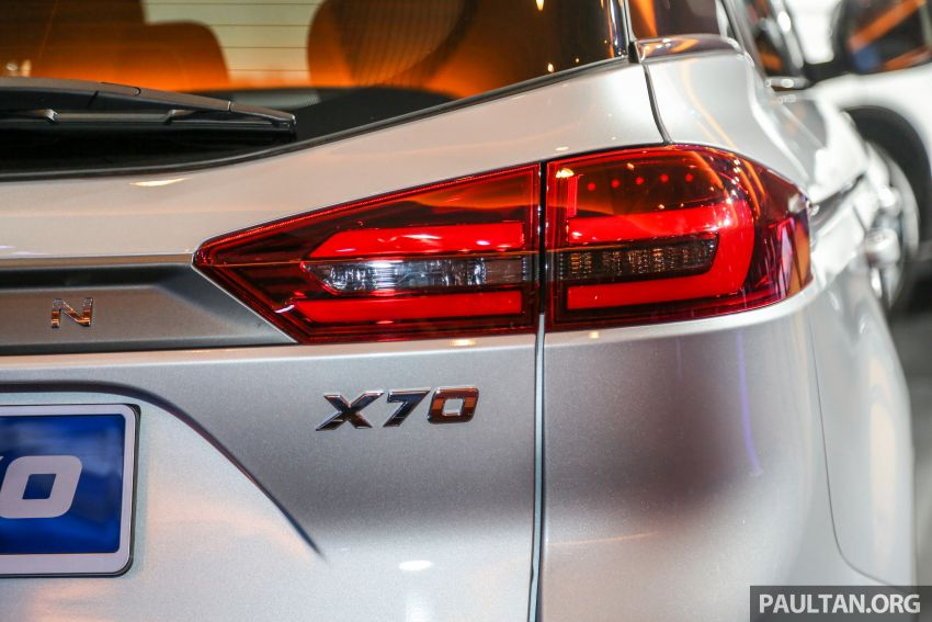 Proton X70 SUV launched in Malaysia, from RM99,800 Image #901689