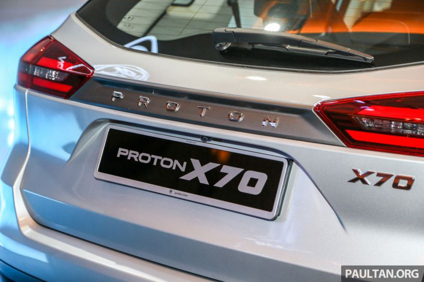 Proton X70 SUV launched in Malaysia, from RM99,800 Image #901690