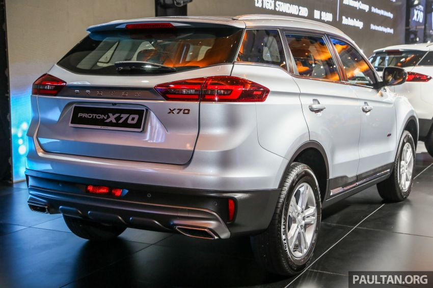 Proton X70 SUV launched in Malaysia, from RM99,800 Image #901676