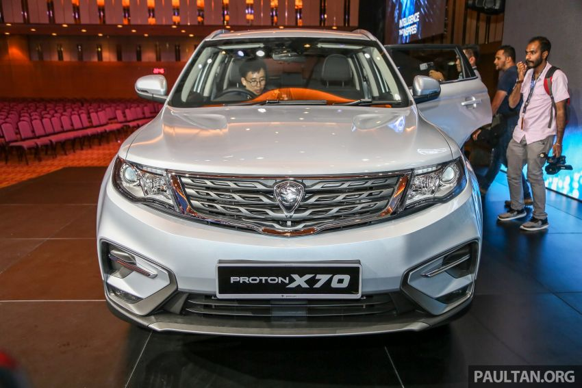 Proton X70 SUV launched in Malaysia, from RM99,800 Image #901677