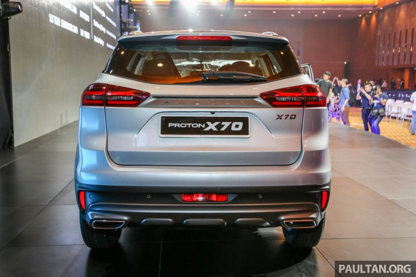 Proton X70 SUV launched in Malaysia, from RM99,800 Image #901678