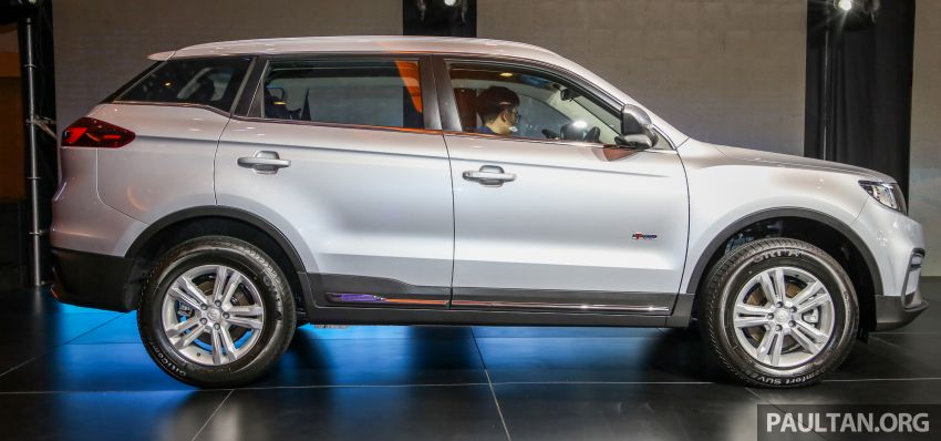 Proton X70 SUV launched in Malaysia, from RM99,800 Image #901679
