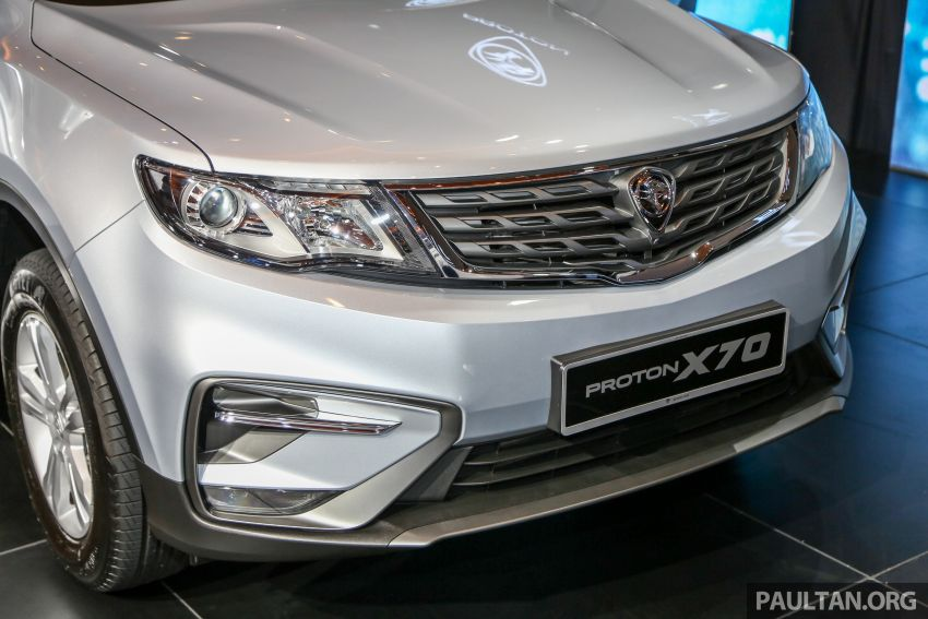 Proton X70 SUV launched in Malaysia, from RM99,800 Image #901680