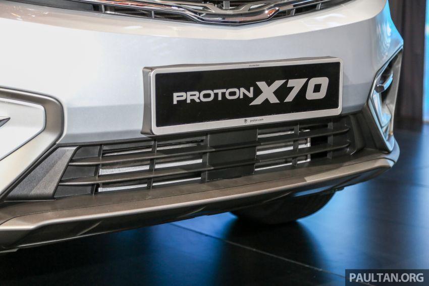 Proton X70  – perbandingan spesifikasi penuh Image #901643