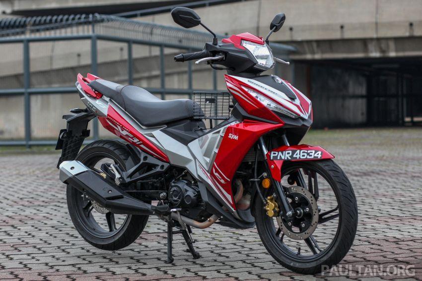 TUNGGANG UJI: SYM VF3i – bolehkah diambil sebagai alternatif kepada Yamaha Y15ZR dan Honda RS150R? Image #902379