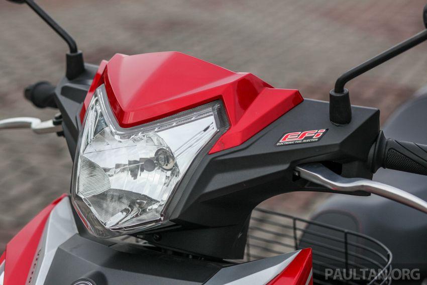 TUNGGANG UJI: SYM VF3i – bolehkah diambil sebagai alternatif kepada Yamaha Y15ZR dan Honda RS150R? Image #902389