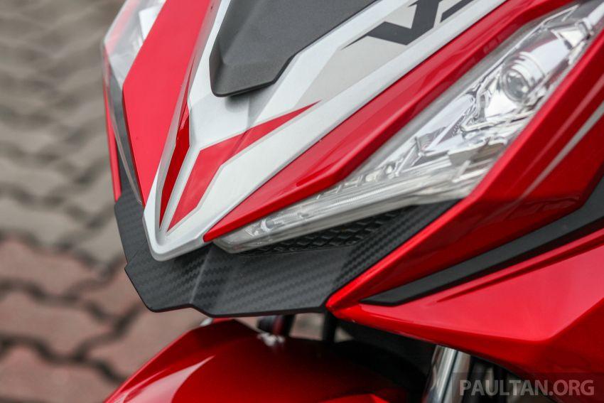 TUNGGANG UJI: SYM VF3i – bolehkah diambil sebagai alternatif kepada Yamaha Y15ZR dan Honda RS150R? Image #902390