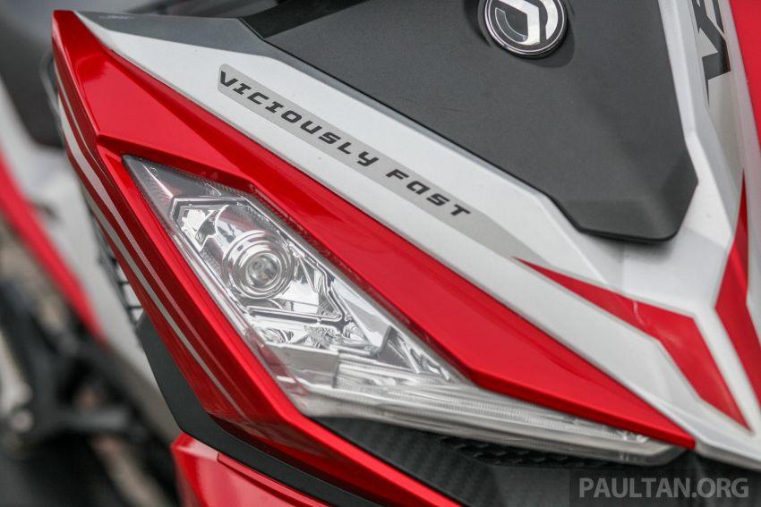TUNGGANG UJI: SYM VF3i – bolehkah diambil sebagai alternatif kepada Yamaha Y15ZR dan Honda RS150R? Image #902391