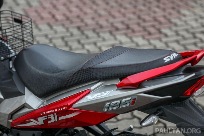 TUNGGANG UJI: SYM VF3i – bolehkah diambil sebagai alternatif kepada Yamaha Y15ZR dan Honda RS150R? Image #902393