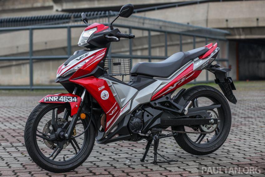 TUNGGANG UJI: SYM VF3i – bolehkah diambil sebagai alternatif kepada Yamaha Y15ZR dan Honda RS150R? Image #902381