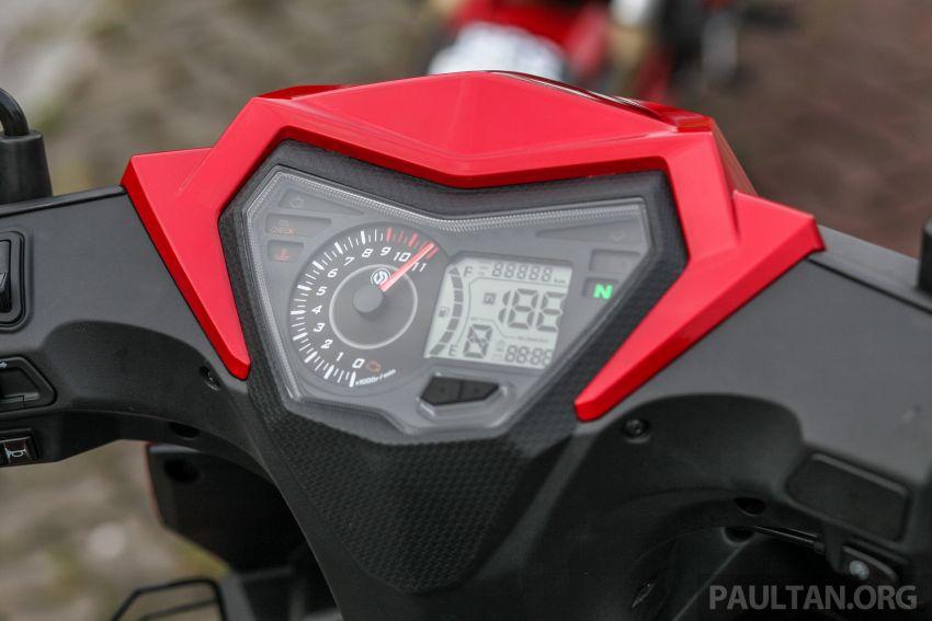TUNGGANG UJI: SYM VF3i – bolehkah diambil sebagai alternatif kepada Yamaha Y15ZR dan Honda RS150R? Image #902400