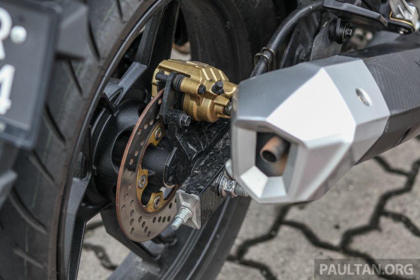 TUNGGANG UJI: SYM VF3i – bolehkah diambil sebagai alternatif kepada Yamaha Y15ZR dan Honda RS150R? Image #902402