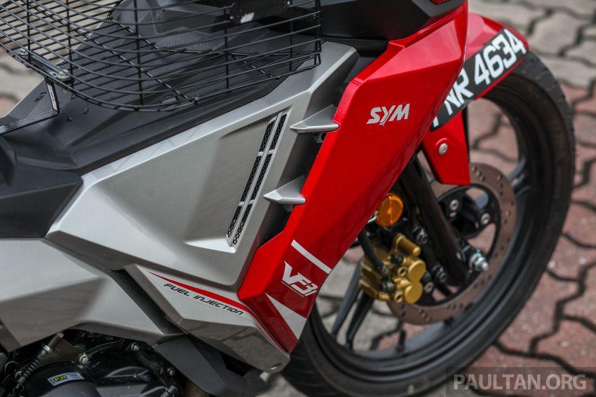 TUNGGANG UJI: SYM VF3i – bolehkah diambil sebagai alternatif kepada Yamaha Y15ZR dan Honda RS150R? Image #902405