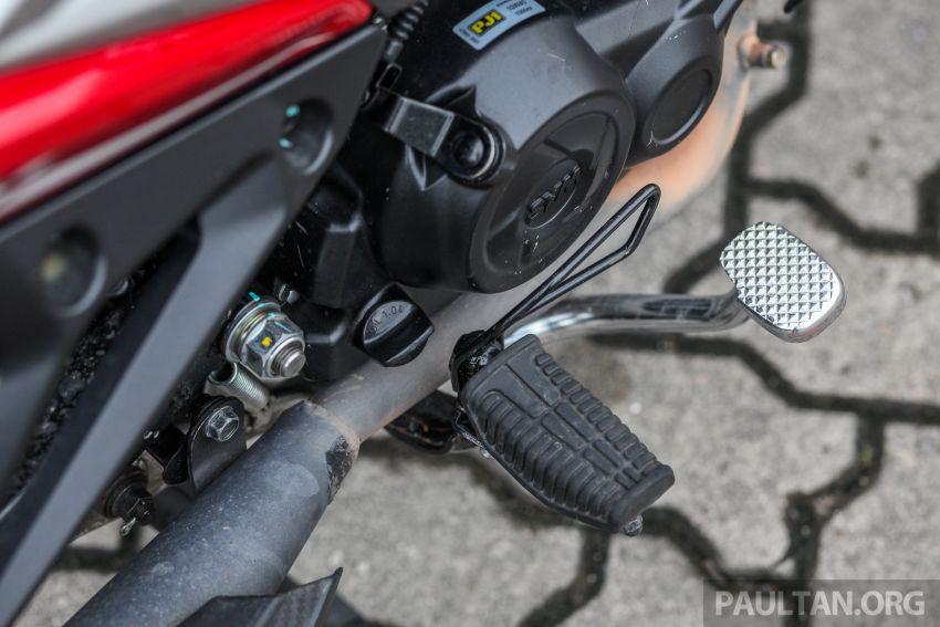 TUNGGANG UJI: SYM VF3i – bolehkah diambil sebagai alternatif kepada Yamaha Y15ZR dan Honda RS150R? Image #902412