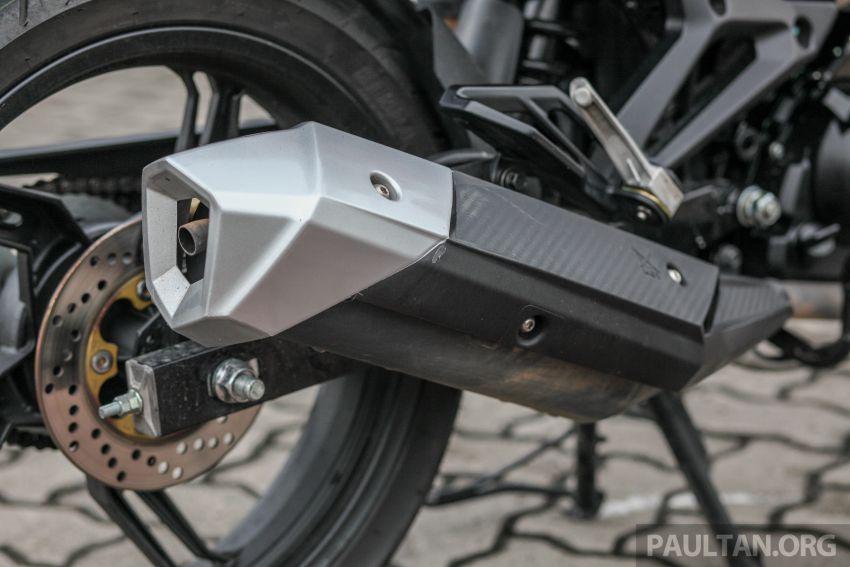 TUNGGANG UJI: SYM VF3i – bolehkah diambil sebagai alternatif kepada Yamaha Y15ZR dan Honda RS150R? Image #902414