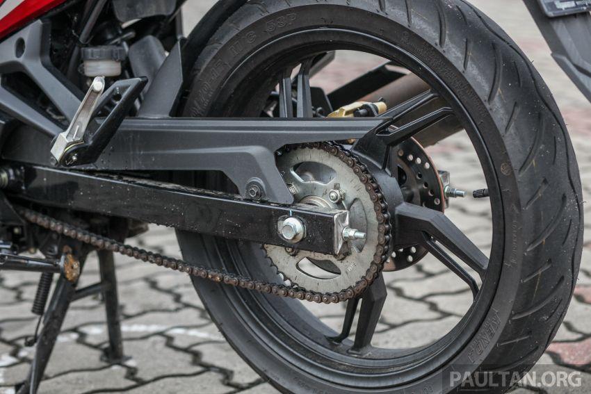TUNGGANG UJI: SYM VF3i – bolehkah diambil sebagai alternatif kepada Yamaha Y15ZR dan Honda RS150R? Image #902415