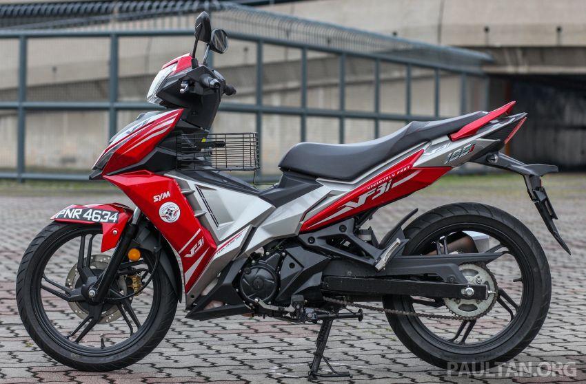 TUNGGANG UJI: SYM VF3i – bolehkah diambil sebagai alternatif kepada Yamaha Y15ZR dan Honda RS150R? Image #902383