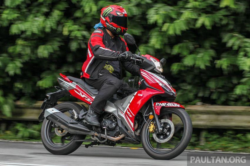 TUNGGANG UJI: SYM VF3i – bolehkah diambil sebagai alternatif kepada Yamaha Y15ZR dan Honda RS150R? Image #902425