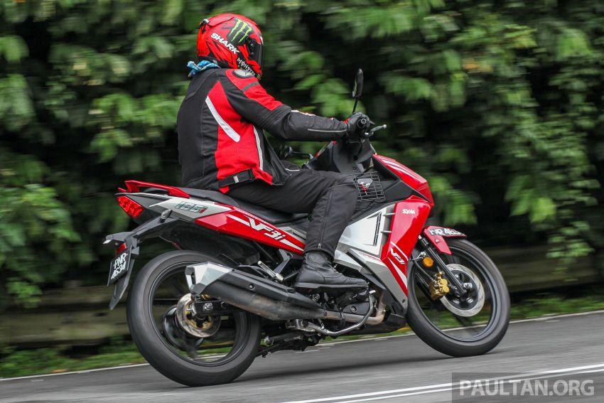 TUNGGANG UJI: SYM VF3i – bolehkah diambil sebagai alternatif kepada Yamaha Y15ZR dan Honda RS150R? Image #902427