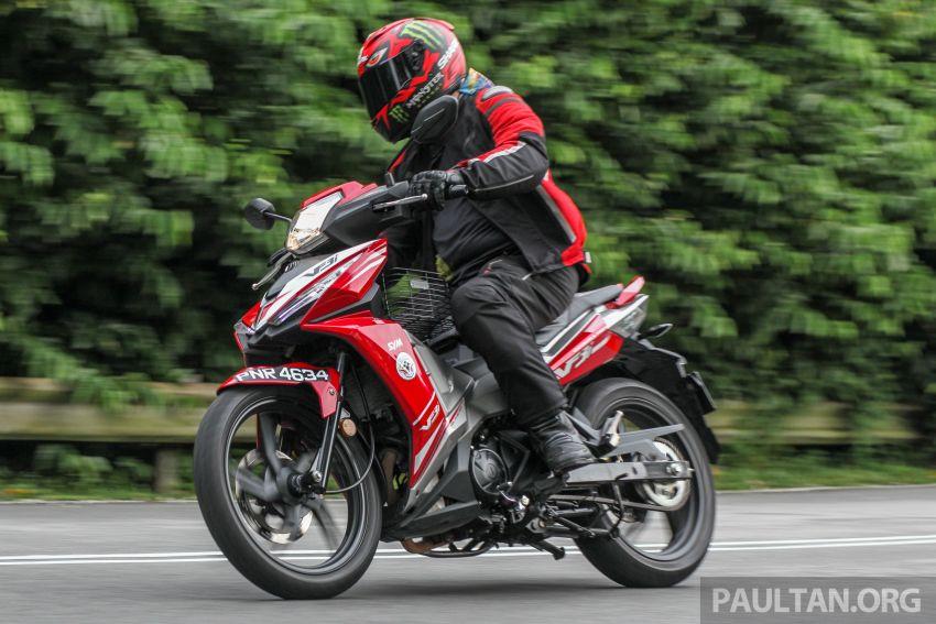 TUNGGANG UJI: SYM VF3i – bolehkah diambil sebagai alternatif kepada Yamaha Y15ZR dan Honda RS150R? Image #902428