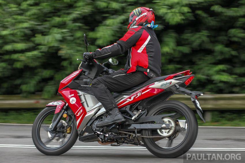 TUNGGANG UJI: SYM VF3i – bolehkah diambil sebagai alternatif kepada Yamaha Y15ZR dan Honda RS150R? Image #902429