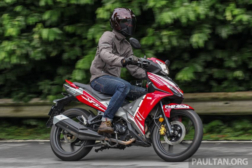 TUNGGANG UJI: SYM VF3i – bolehkah diambil sebagai alternatif kepada Yamaha Y15ZR dan Honda RS150R? Image #902430