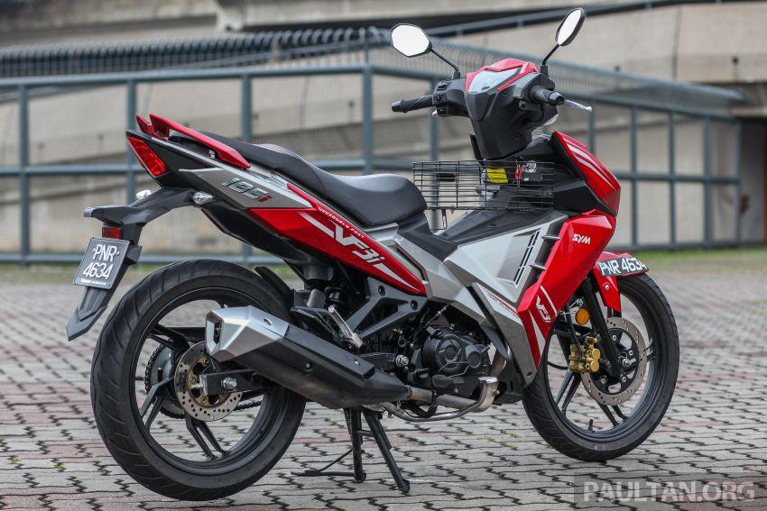 TUNGGANG UJI: SYM VF3i – bolehkah diambil sebagai alternatif kepada Yamaha Y15ZR dan Honda RS150R? Image #902384