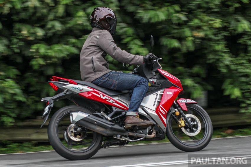 TUNGGANG UJI: SYM VF3i – bolehkah diambil sebagai alternatif kepada Yamaha Y15ZR dan Honda RS150R? Image #902433