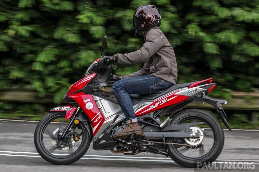 TUNGGANG UJI: SYM VF3i – bolehkah diambil sebagai alternatif kepada Yamaha Y15ZR dan Honda RS150R? Image #902434