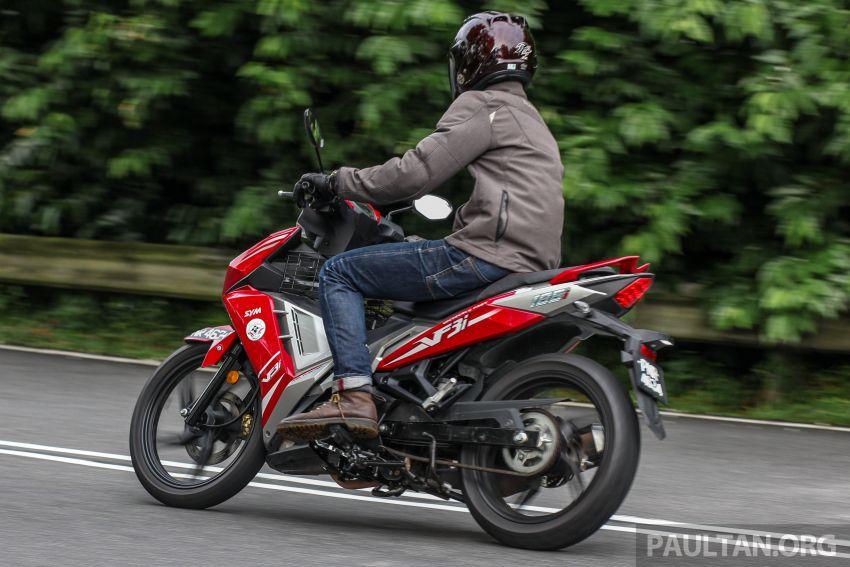 TUNGGANG UJI: SYM VF3i – bolehkah diambil sebagai alternatif kepada Yamaha Y15ZR dan Honda RS150R? Image #902435