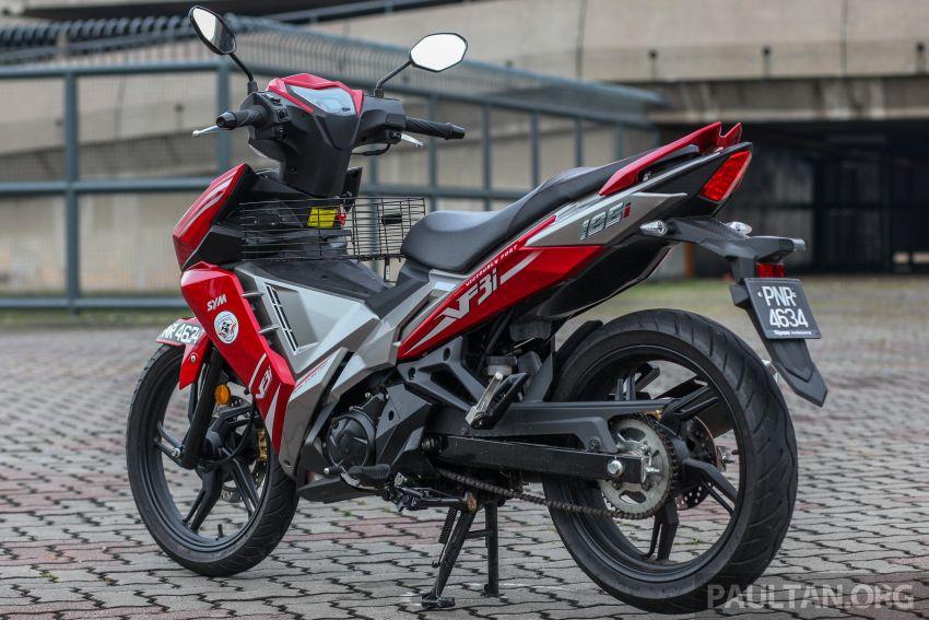 TUNGGANG UJI: SYM VF3i – bolehkah diambil sebagai alternatif kepada Yamaha Y15ZR dan Honda RS150R? Image #902385