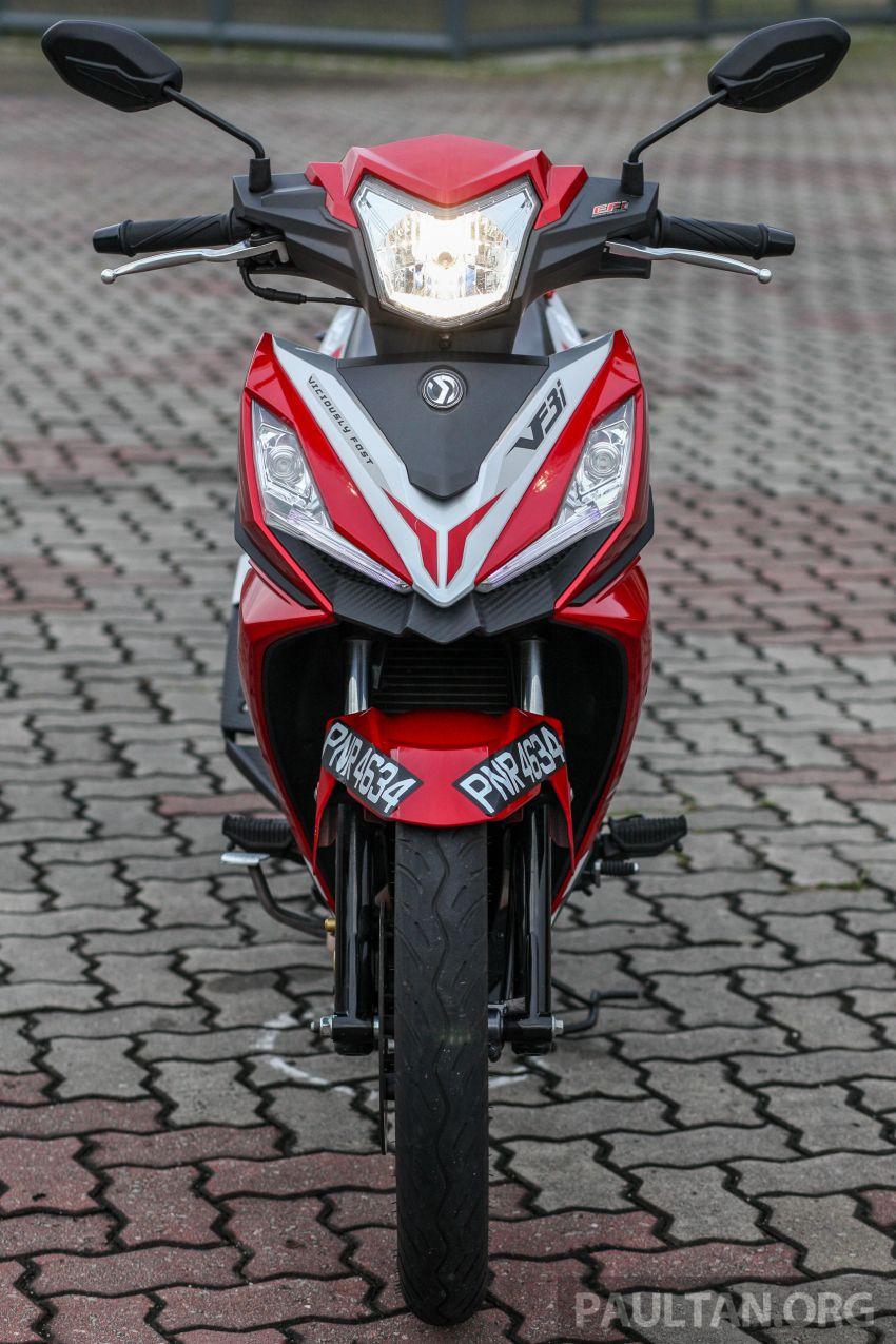 TUNGGANG UJI: SYM VF3i – bolehkah diambil sebagai alternatif kepada Yamaha Y15ZR dan Honda RS150R? Image #902386