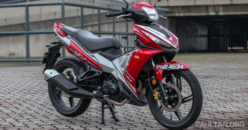 TUNGGANG UJI: SYM VF3i – bolehkah diambil sebagai alternatif kepada Yamaha Y15ZR dan Honda RS150R? Image #902436