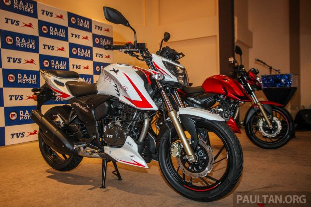 tvs apache rtr 180 race edition launched