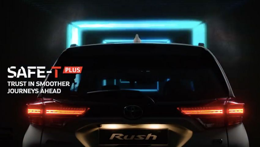 Perodua releases third D38L SUV teaser – rear end Image #902458