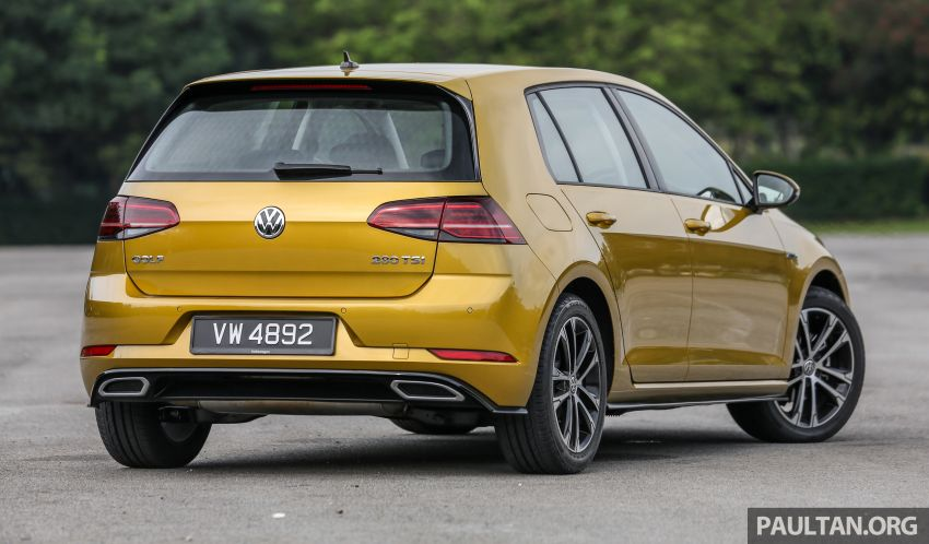 FIRST DRIVE: Mk7.5 Volkswagen Golf 1.4 TSI R-Line Image #902130