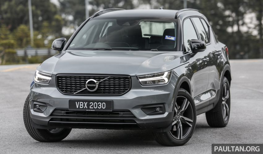 FIRST DRIVE: 2018 Volvo XC40 T5 AWD R-Design Image #902231