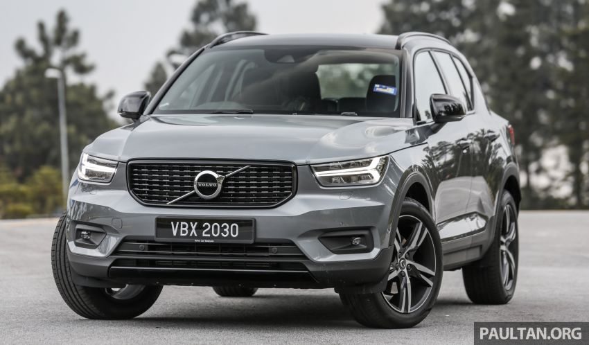 FIRST DRIVE: 2018 Volvo XC40 T5 AWD R-Design Image #902232