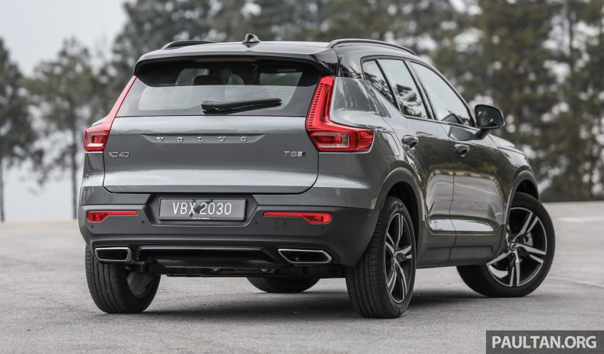 FIRST DRIVE: 2018 Volvo XC40 T5 AWD R-Design Image #902236